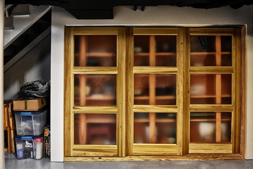 Louisville Interior Designers, Louisville Renovation Designers, Interior Design, Renovation Design, Bath Renovation, Master Closet Renovation, White Custom Shelving, Closet Organization, Black Shower Tile, Bathroom Vanity, Vanity Lighting, Custom Tile, Granite Countertops, White Bathroom Vanity, Marble Tile, Vanity Lighting