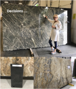 Before Photo, Granite Selections
